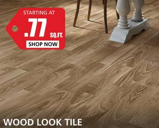 Wood Look starting at $0.77 per square foot