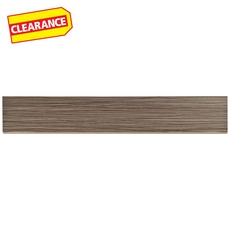 Clearance! Tessuto Linen Nutmeg White Body Ceramic Bullnose