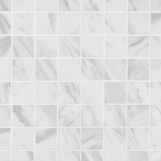 Carrara Polished Porcelain Mosaic