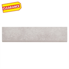 Clearance! Vogue Warm Gray Porcelain Bullnose