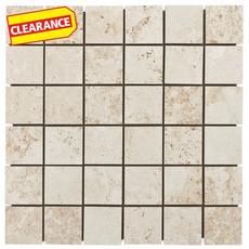 Clearance! Monte Verino Bianco Porcelain Mosaic