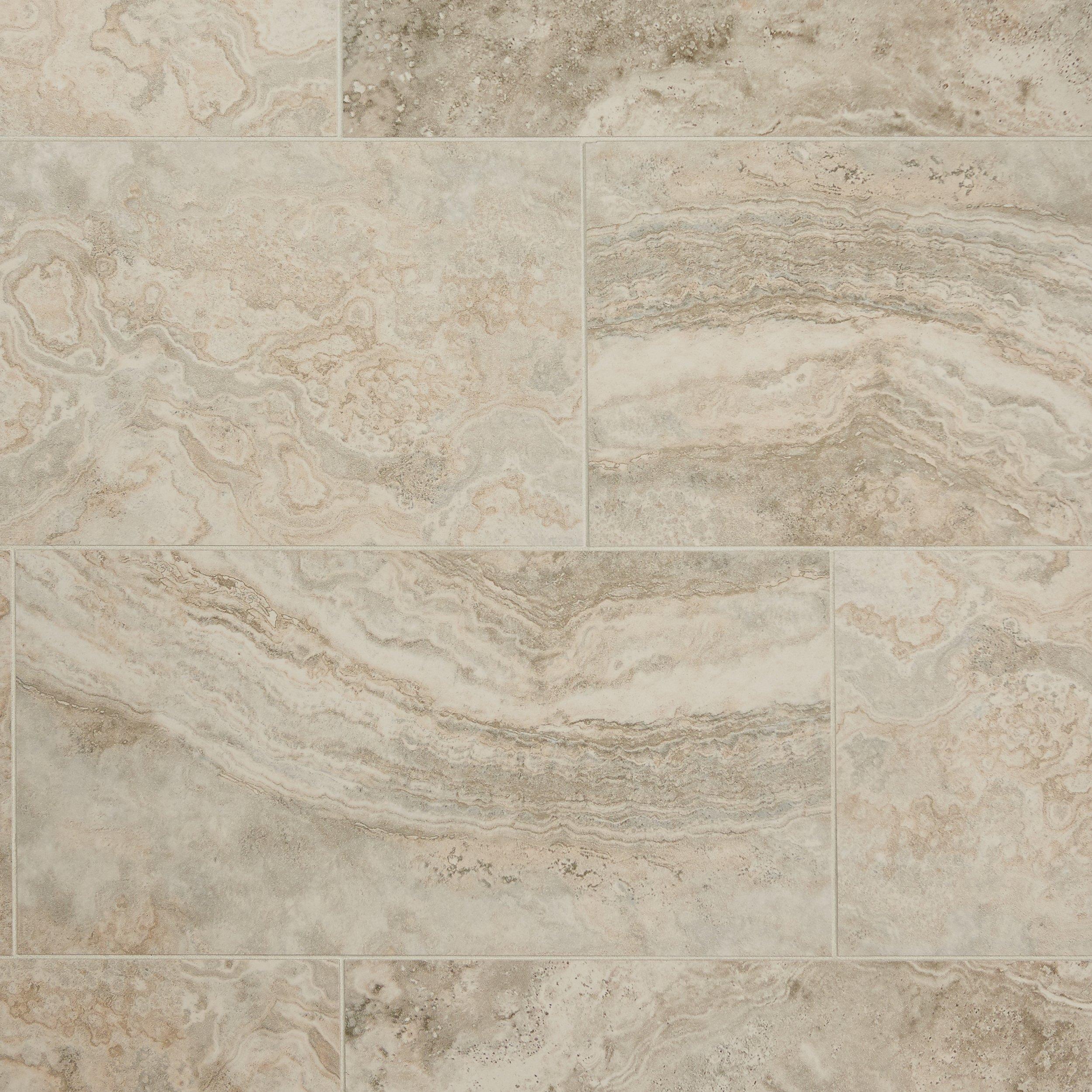 Seville Gray Porcelain Tile - 12 x 24 - 912400888 | Floor and Decor