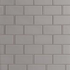 Pure Wool Shiny Glass Tile