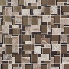Montage Stone Matrix Classic Polished Glass Mosaic