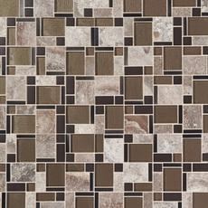Stone Matrix Classic Polished Glass Mosaic