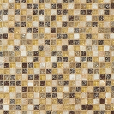 Mediterranean Glass and Stone Mosaic