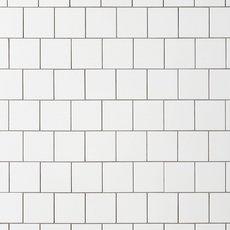 Wall Tiles Floor Decor - 4x4 matte white ceramic tile