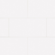 Pure White Glossy Ceramic Wall Tile