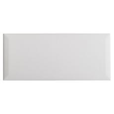 White Ice Beveled Ceramic Wall Tile