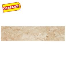 Clearance! Princeps Tortora Porcelain Floor Bullnose