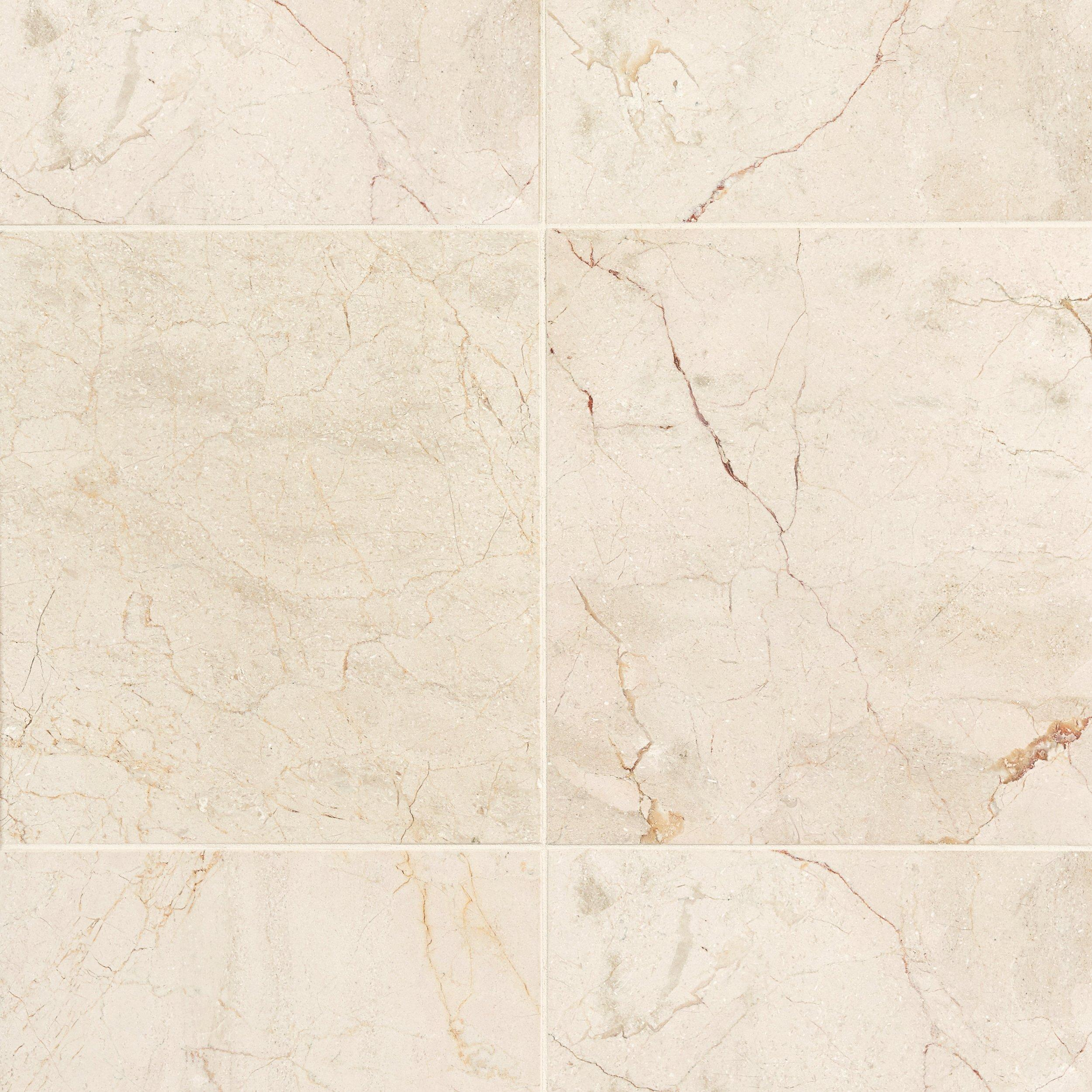 Crema marfil classic marble tile 18 x 18 921100528 floor and crema marfil classic marble tile 18 x 18 921100528 floor and decor dailygadgetfo Images