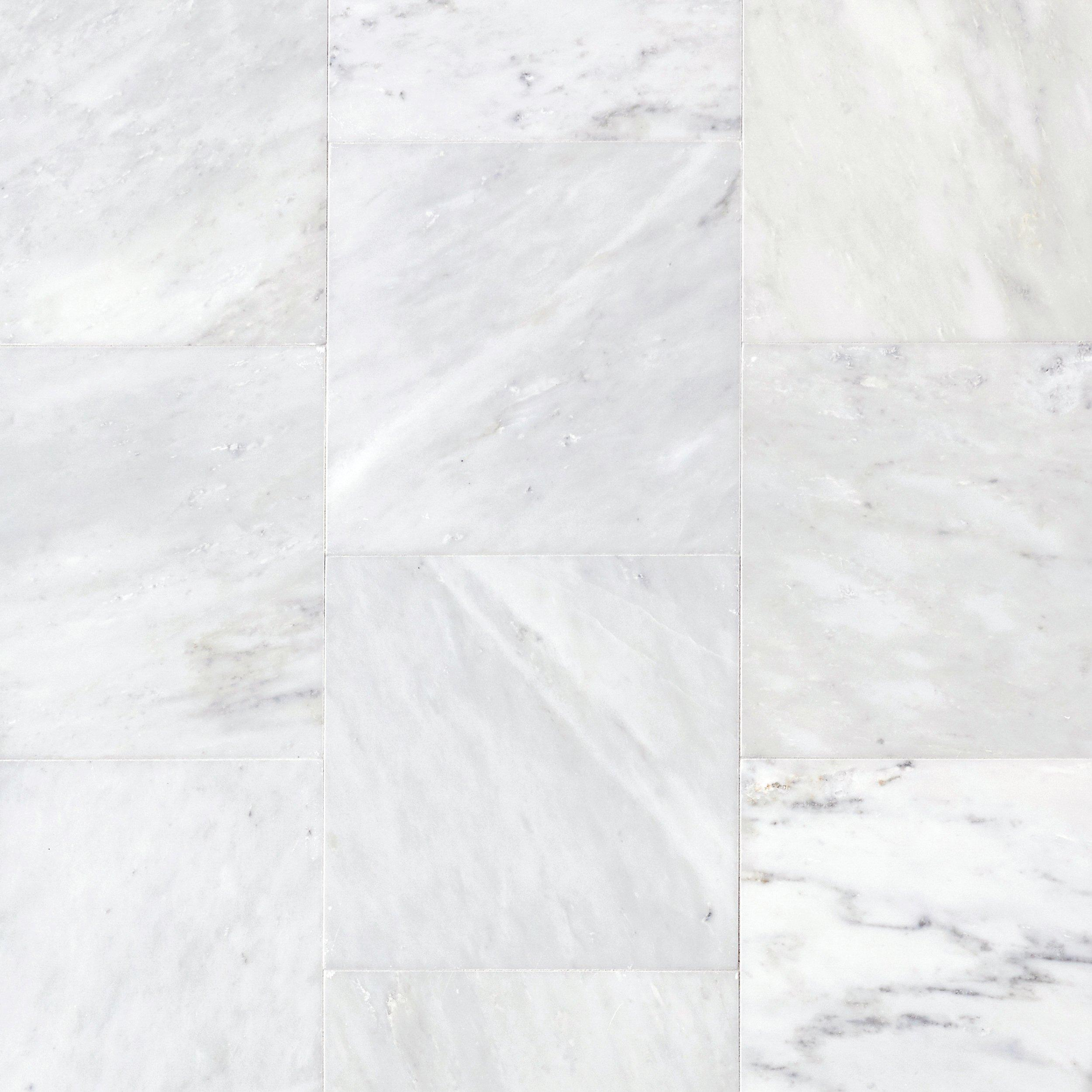 Carrara white polished marble tile 12in x 12in 921101165 carrara white polished marble tile 12in x 12in 921101165 floor and decor dailygadgetfo Image collections