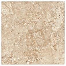 Scabas Brushed Chiseled Travertine Tile 8 X 8