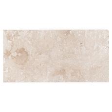 Troia Ivory Brushed Travertine Tile