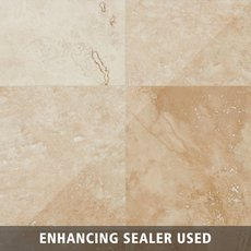 Caria Honed Travertine Tile