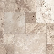 Mediterranean Rustic Chiseled Travertine Tile