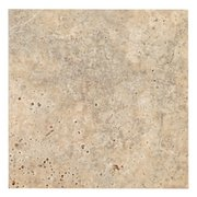 Argento Brushed Travertine Tile