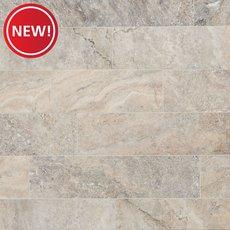 New! Argento Brushed Travertine Tile