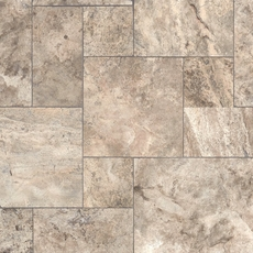 Argento Brushed Travertine Tile