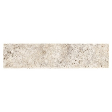 Argento Brushed Travertine Bullnose