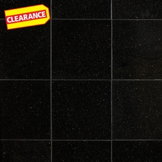 Clearance! Galaxy Black Granite Tile