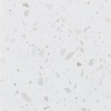 Ready To Install Ice White Quartz Slab Includes Backsplash