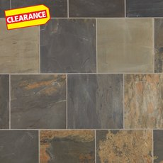 Clearance! Indian Multicolor Slate Tile