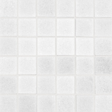 Crystal White Square Polished Marble Mosaic