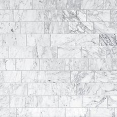 Bianco Carrara Polished Marble Tile
