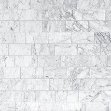 Bianco Carrara Polished Marble Tile