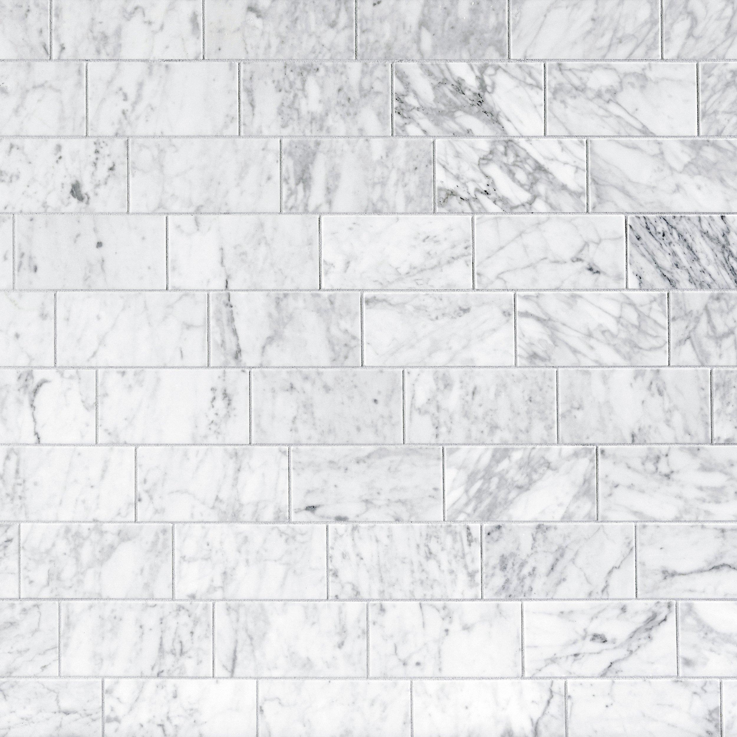 Attrayant Bianco Carrara Polished Marble Tile