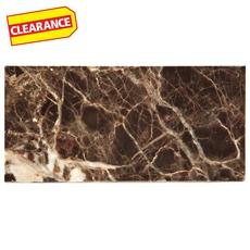 Clearance! Dark Emperador Marble Tile