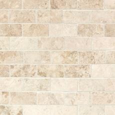 Cappuccino Beige Brick Marble Mosaic