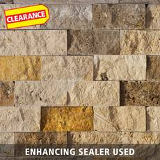 Clearance! Mix Brick Travertine Mosaic