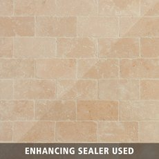 Crema Antiqua Tumbled Travertine Tile