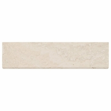 Savona Ivory Brushed Travertine Bullnose