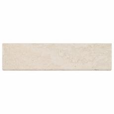 Savona Ivory Brushed Travertine Bullnose