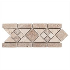Norna Decorative Travertine Border