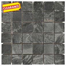 Clearance! Silver Gray Slate Mosaic