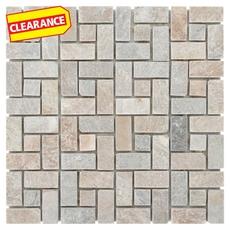 Clearance! Golden Harvest Pinwheel Slate Mosaic