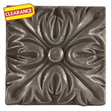 Clearance! Metallic Nickel Silver Resin Decorative Insert