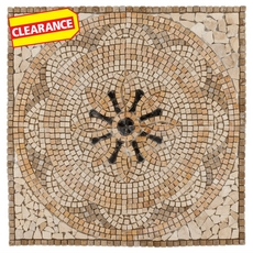 Clearance! Palazzo Travertine Medallion