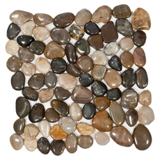 Multi Round Pebble Stone Mosaic