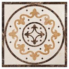 Fiore Di Marmo Decorative Polished Medallion