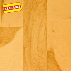 Clearance! Natural Birch Smooth Engineered Hardwood