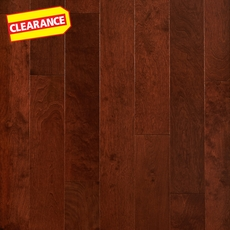 Clearance! Cherry Birch Smooth Engineered Hardwood