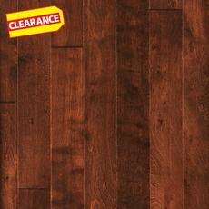 Clearance! Cinnamon Birch Hand Scraped Locking Engineered Hardwood