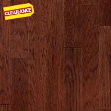 Clearance! Ponderosa Hickory Hand Scraped Engineered Hardwood