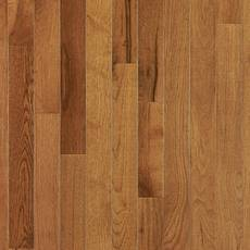 Smoky Topaz Hickory Smooth Solid Hardwood 3 4in X 3 1