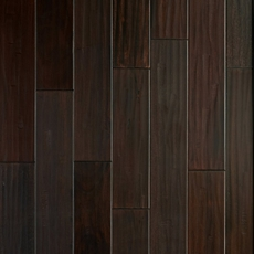 Mahogany Dark Hand Scraped Solid Hardwood